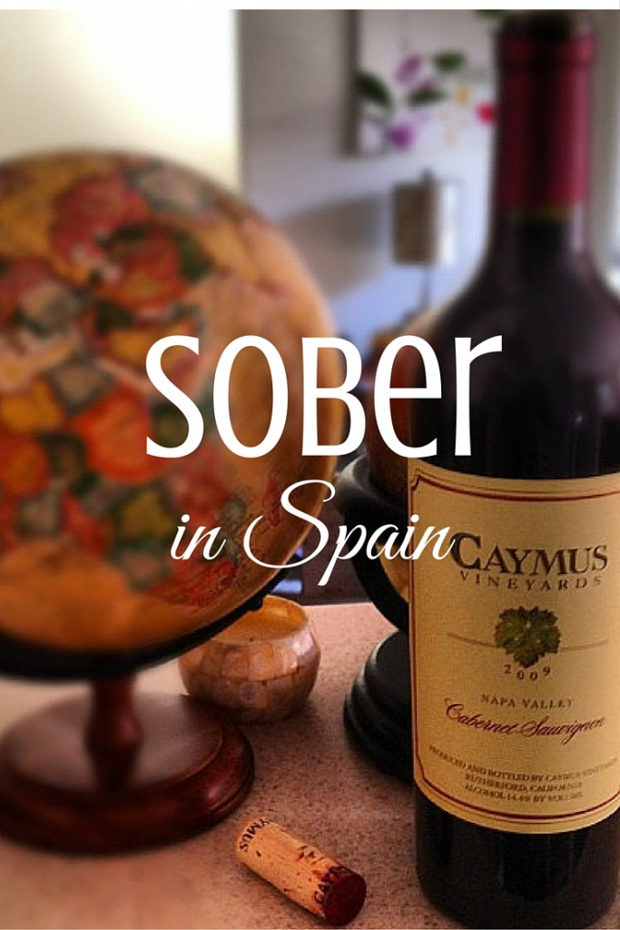 A personal story about going booze-free (and eating clean and working out all the time) for a month ... while living in Spain